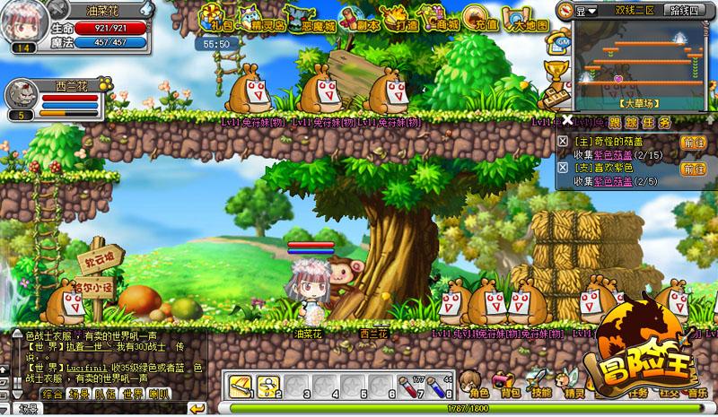 冒险王之双人无敌版_7k7k小游戏冒险王,双人版的有吗?-