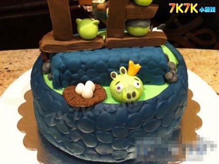 三层架子欧式水果生日蛋糕图片大全