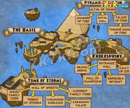 沃尔学院之地图介绍