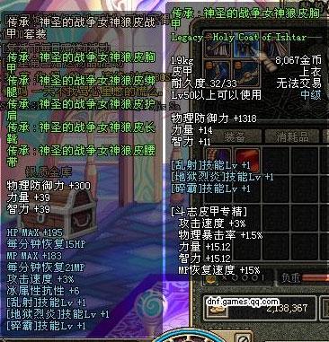 dnf70传承重甲_传承皮甲套装大收集(9)